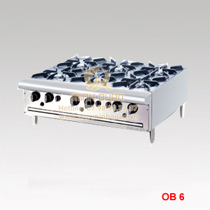 Bếp Âu 6 họng OB6