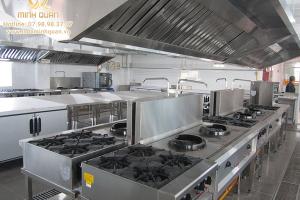 Thiết kế và bố trí bếp âu cho nhà hàng đúng cách