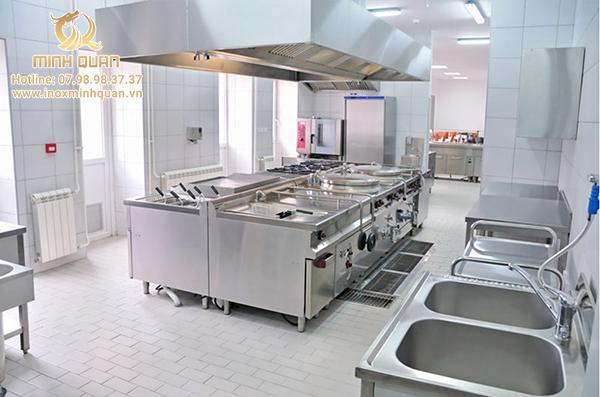 Cần lưu ý khi thiết kế bếp công nghiệp cho nhà hàng