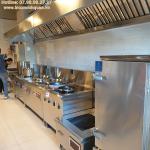 Tiêu chuẩn thiết bị chụp hút khói bếp nhà hàng khách sạn