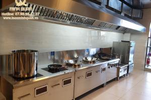 Thiết kế bếp công nghiệp cho khách sạn Hữu Nghị – Hải Dương