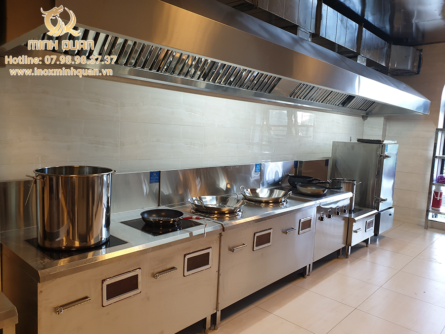 Thiết kế bếp công nghiệp cho khách sạn Hữu Nghị - Hải Dương